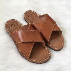 The Poet Melissinos Art Handmade Leather Sandals